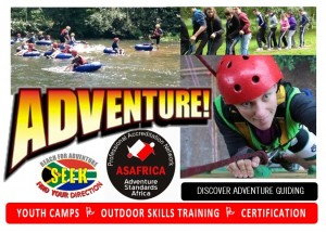 TEENAGER AND YOUTHS ADVENTURE CAMPS 2016